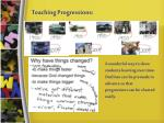 teaching progressions