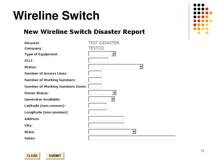 Wireline Switch