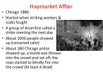 haymarket affair