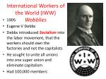 international workers of the world iww wobblies