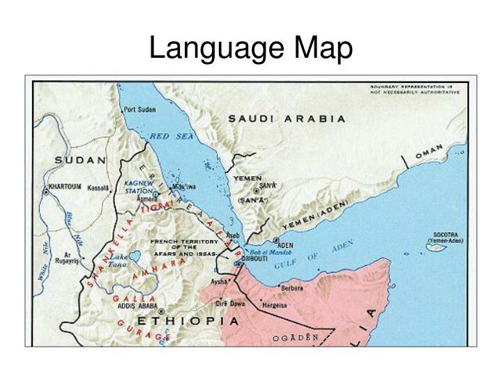 Language Map
