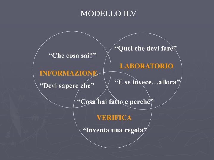 MODELLO ILV