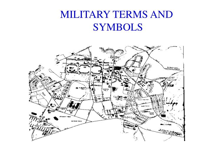 PPT - MILITARY TERMS AND SYMBOLS PowerPoint Presentation