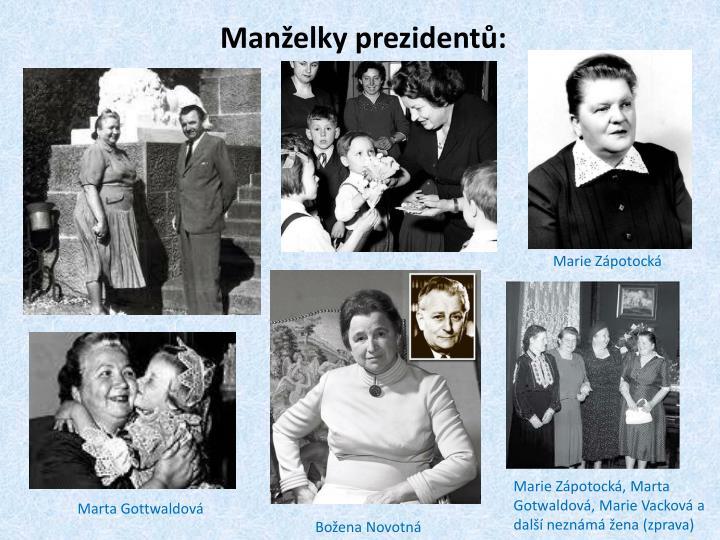 Manželky prezidentů: