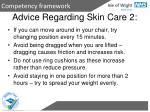 advice regarding skin care 2
