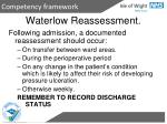 waterlow reassessment