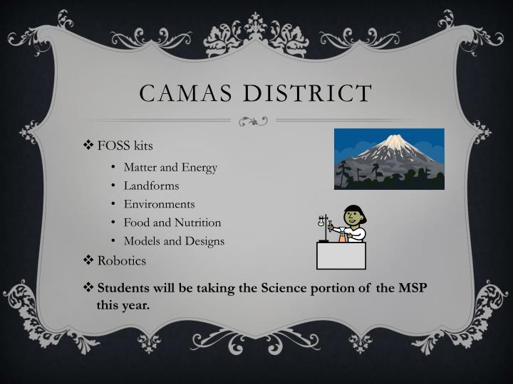Camas District