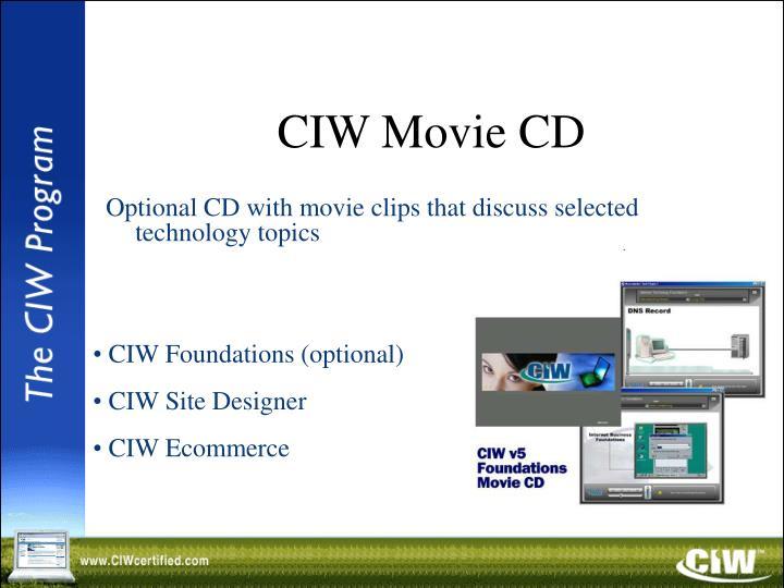 CIW Movie CD