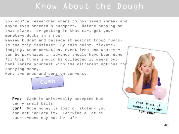 Know About the Dough