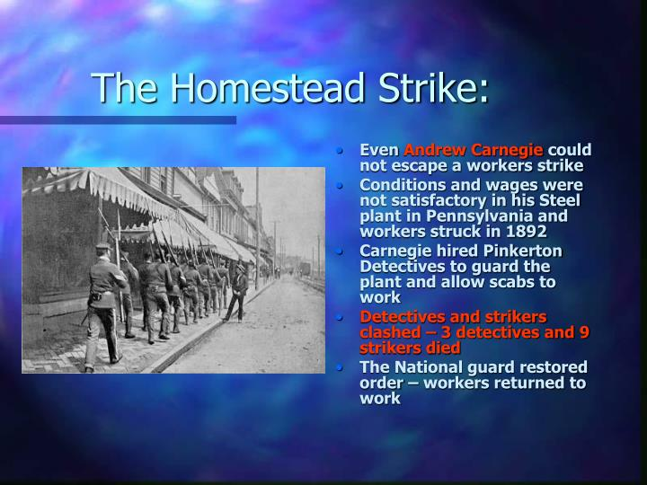 The Homestead Strike: