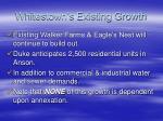 whitestown s existing growth