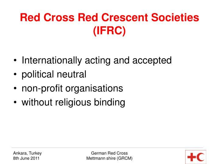 Red Cross Red Crescent Societies