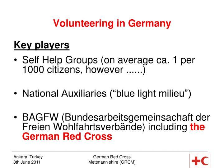 Volunteering in Germany