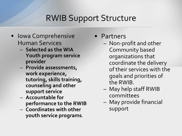 RWIB Support Structure