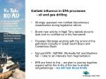 kaitiaki influence in epa processes oil and gas drilling