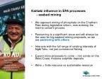 kaitiaki influence in epa processes seabed mining