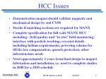 hcc issues