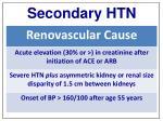 secondary htn1