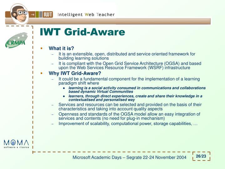 IWT Grid-Aware