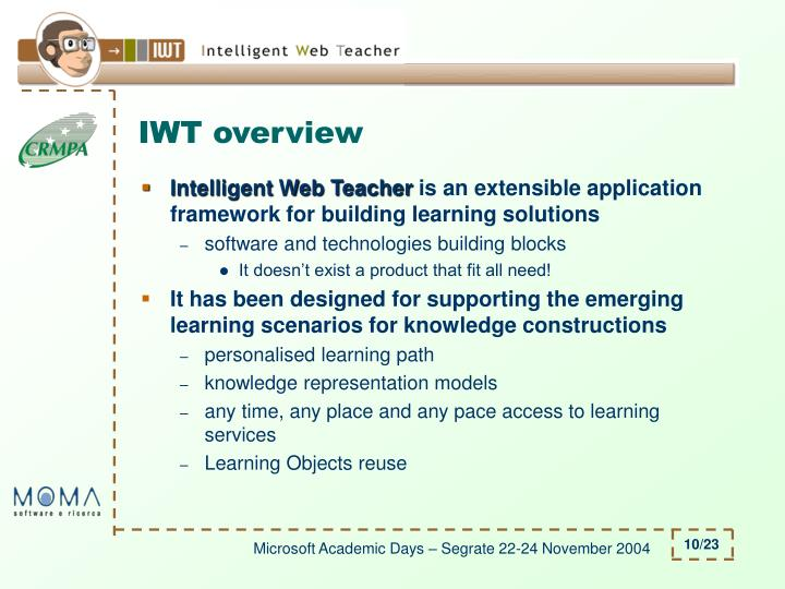 IWT overview