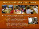 fourth grade math curriculum