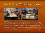 fourth grade writing curriculum