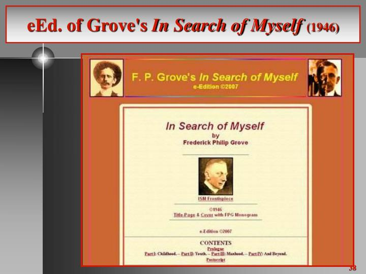 eEd. of Grove's