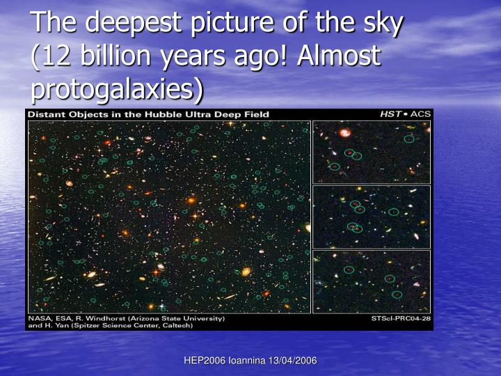 The deepest picture of the sky
