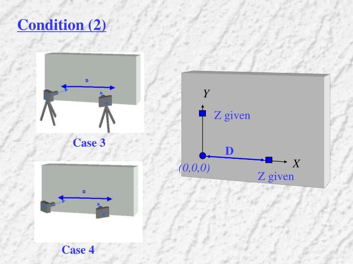 Condition (2)