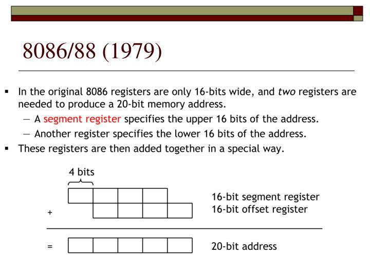 8086/88 (1979)