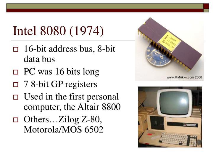Intel 8080 (1974)