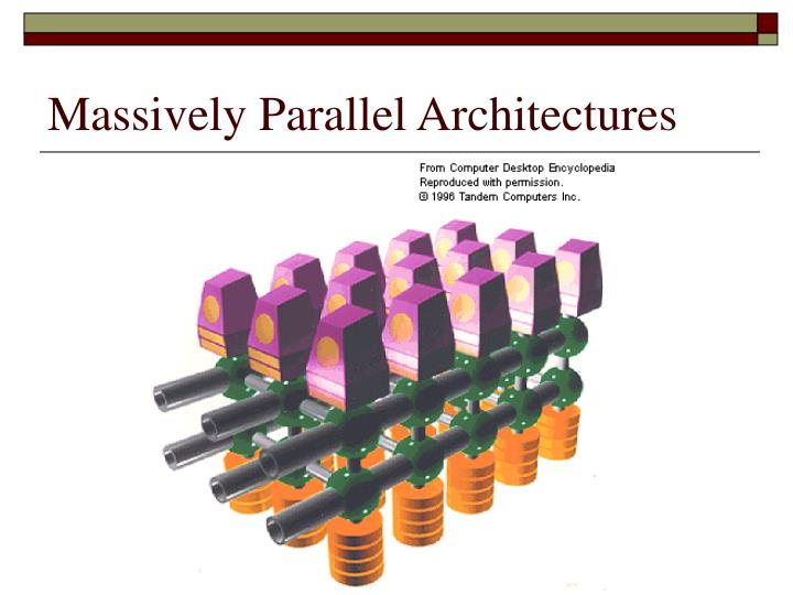 Massively Parallel Architectures