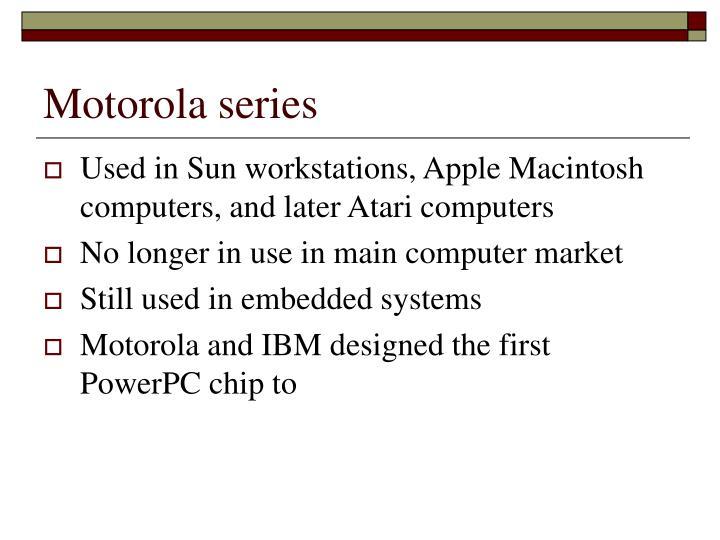 Motorola series