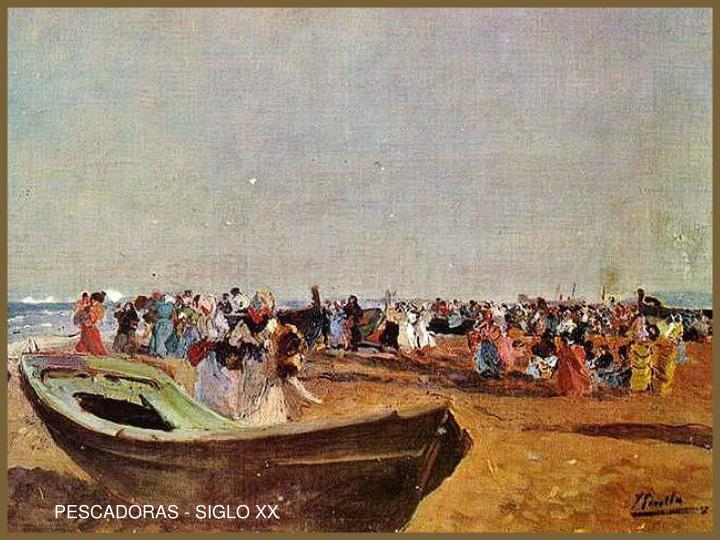 PESCADORAS - SIGLO XX