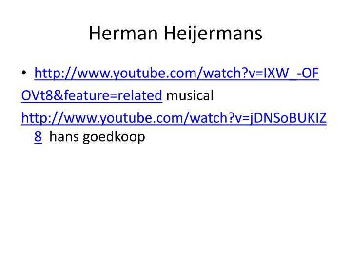 Herman heijermans