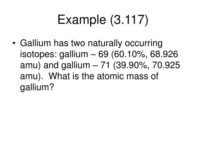 Example (3.117)
