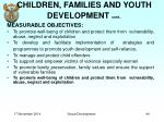 children families and youth development cont