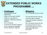 extended public works programme cont2