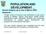 population and development cont1