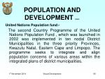 population and development cont2