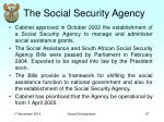 the social security agency
