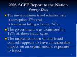 2008 acfe report to the nation survey data1
