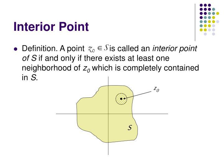 Interior point