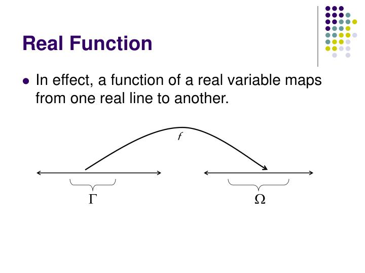 Real Function