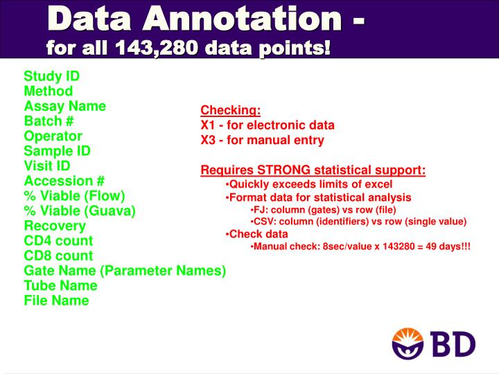 Data Annotation -