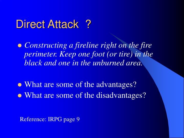 Direct Attack  ?