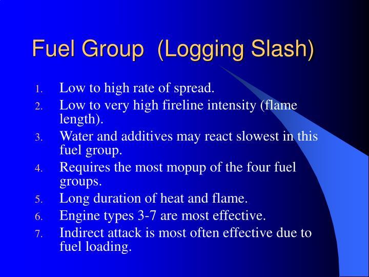 Fuel Group  (Logging Slash)