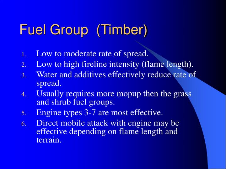 Fuel Group  (Timber)