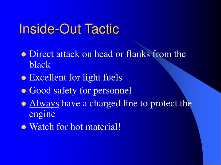 Inside-Out Tactic
