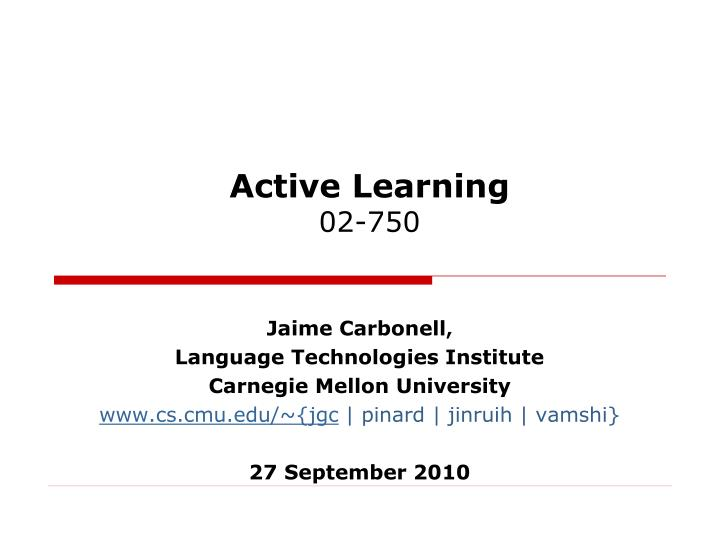 active learning 02 750 n.